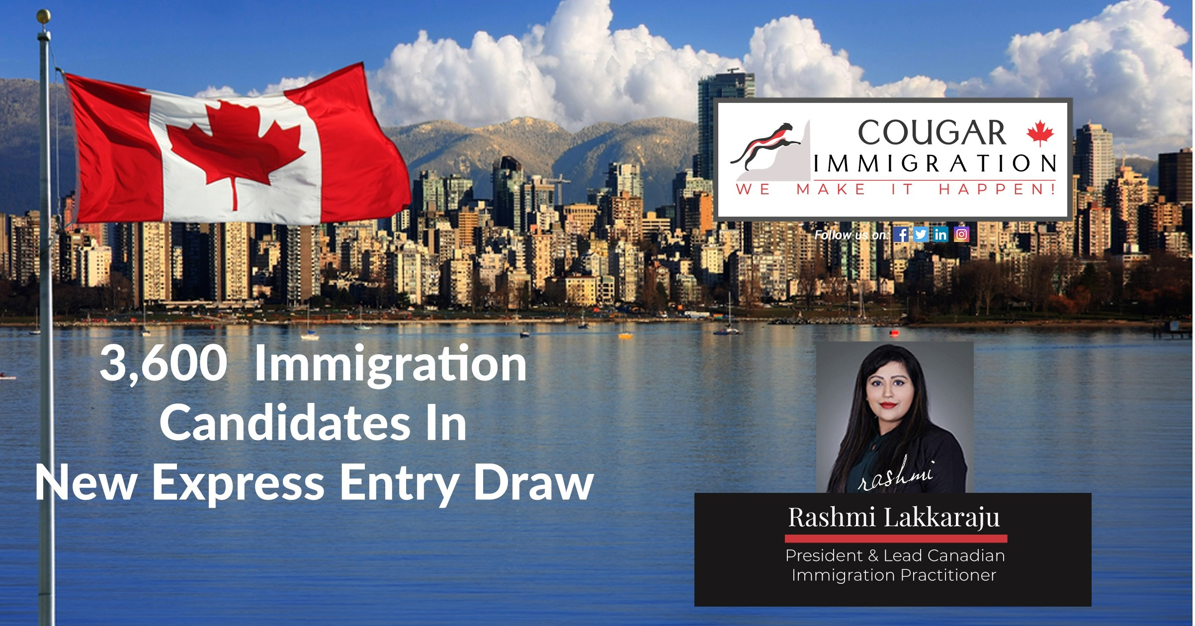 Canada Invites 3,600 Immigration Candidates In New Express Entry Draw thumbnail