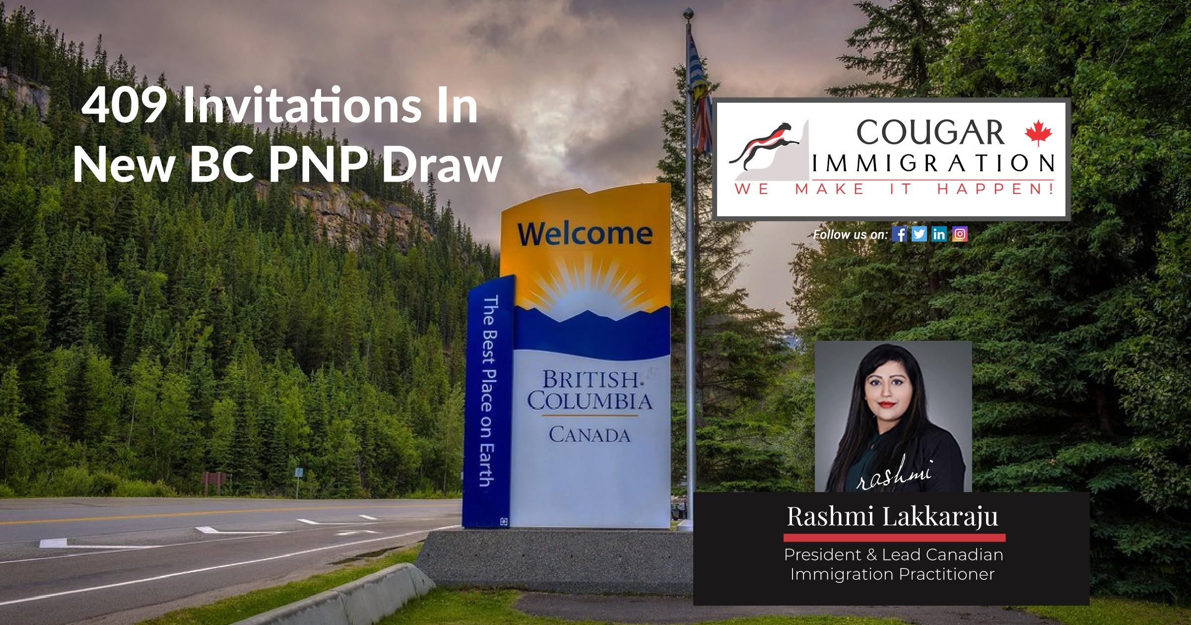 British Columbia Issues 409 Invitations In New BC PNP Draw thumbnail