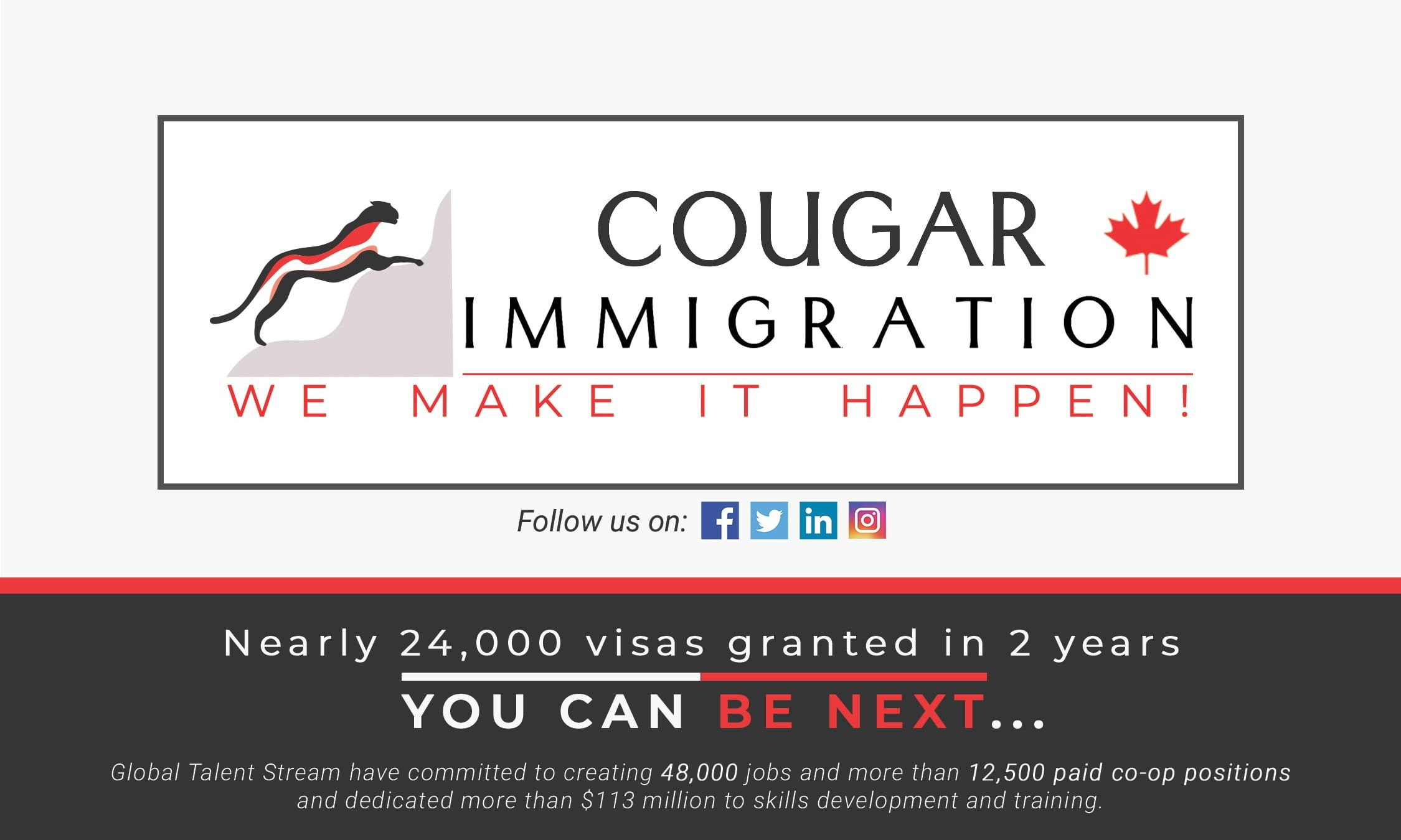 Nearly 24,000 visas granted in 2 years –  You can be Next…. thumbnail