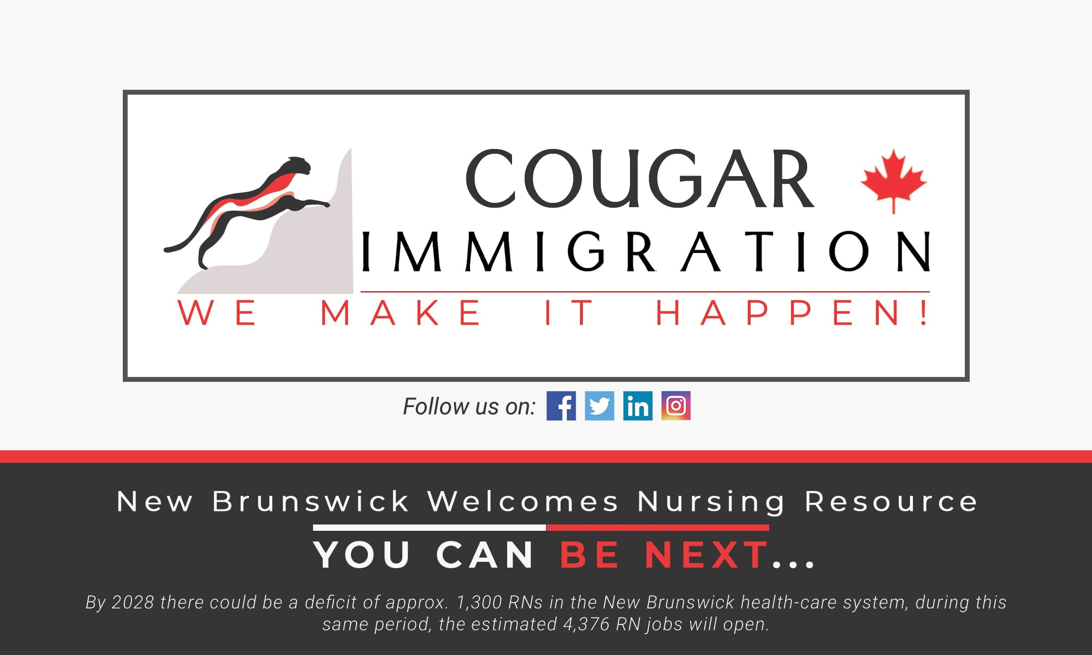 New Brunswick nursing strategy prescribes immigrant RNs for growing labor shortage thumbnail