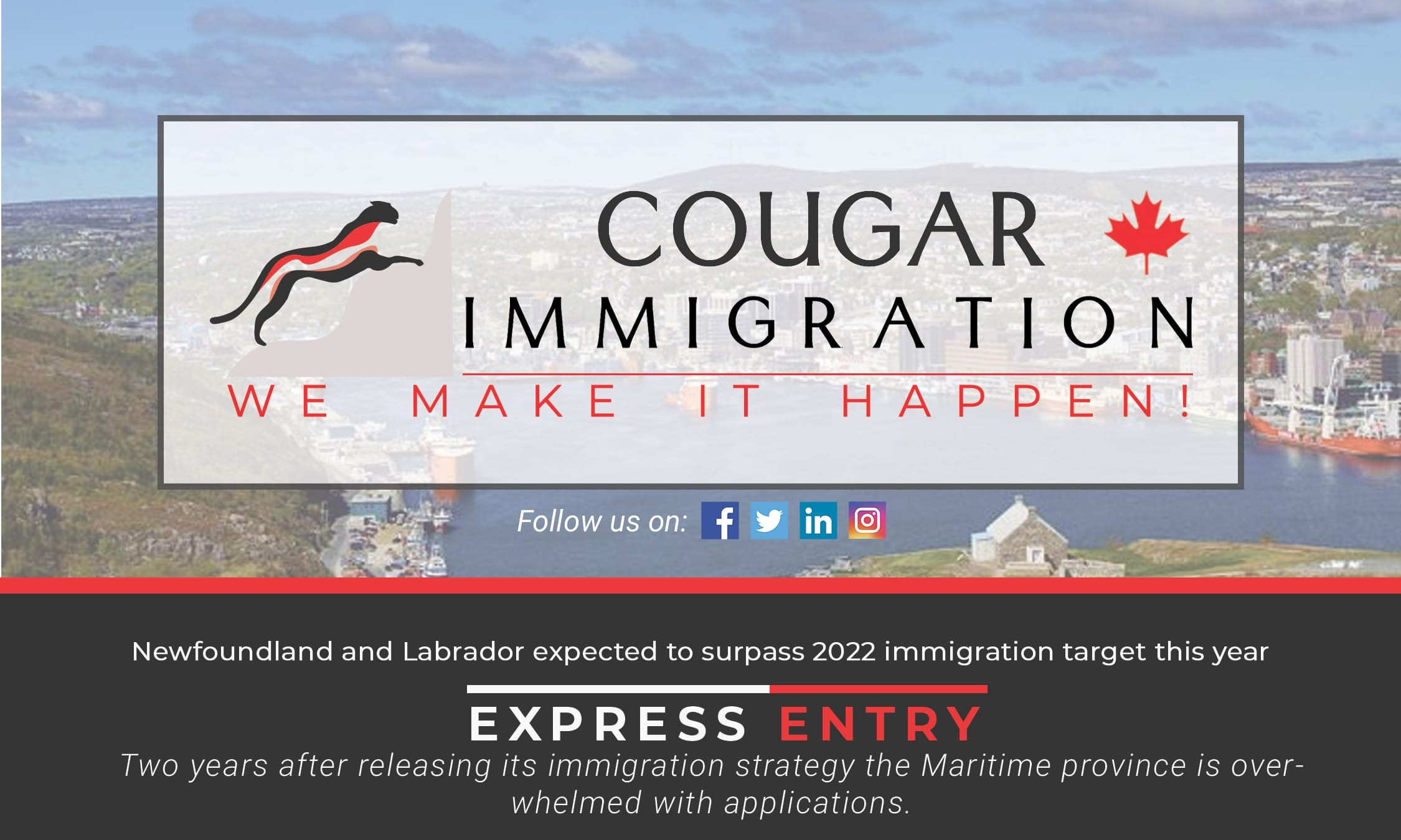 Newfoundland and Labrador expected to surpass 2022 immigration target this year thumbnail