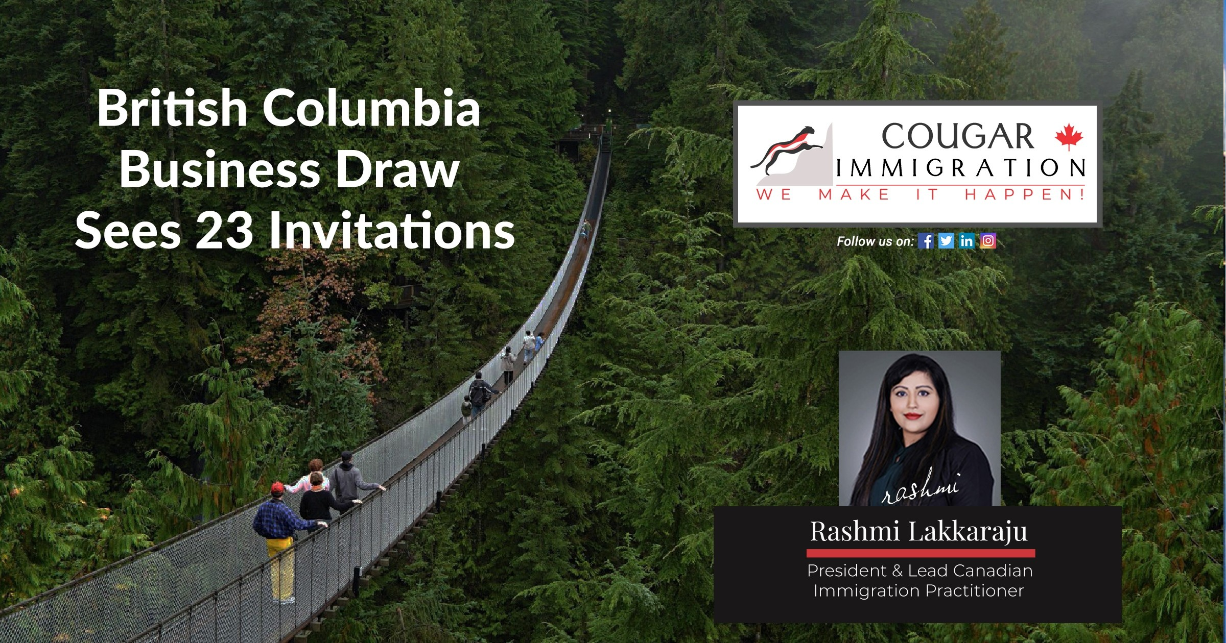 Latest British Columbia Business Draw Sees 23 Invitations Issued thumbnail