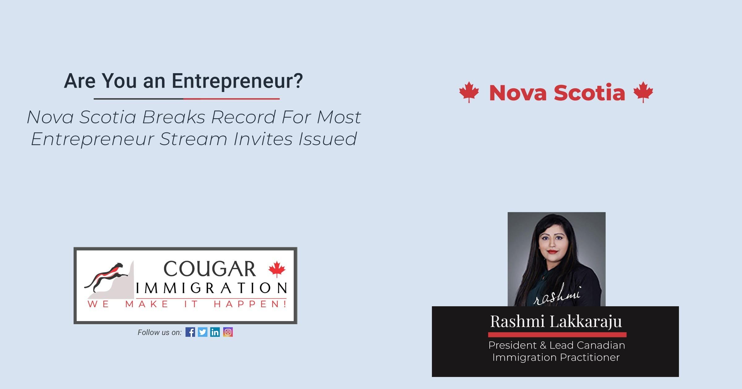 Nova Scotia Breaks Record For Most Entrepreneur Stream Invites Issued thumbnail