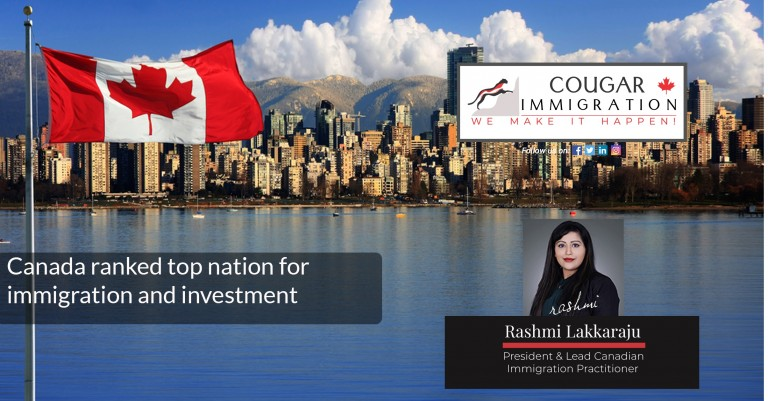 Canada ranked top nation for immigration and investment
