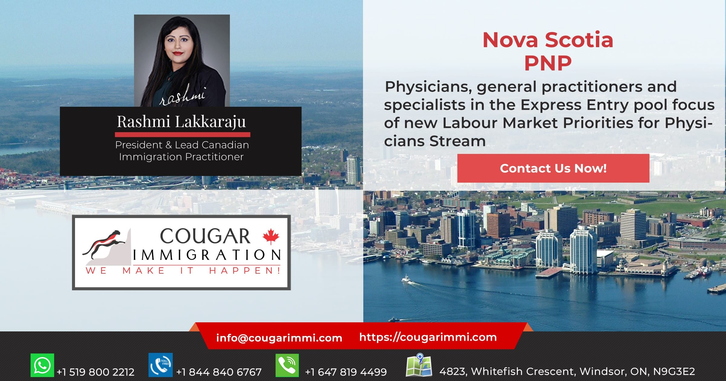 Nova Scotia creates new pathway for physicians looking to immigrate to Canada thumbnail