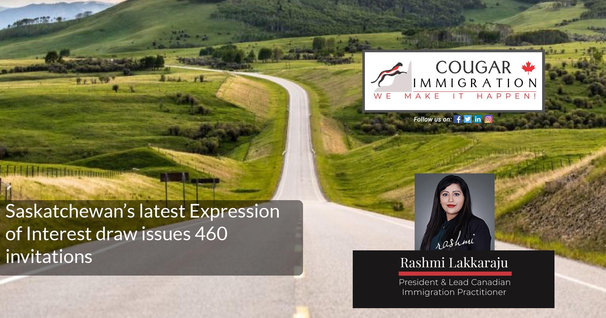 Saskatchewan's latest Expression of Interest draw issues 460 invitations